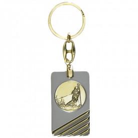 Porte-clés médaille personnalisable - France Sport F_192-24L