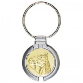 Porte-clés médaille personnalisable - France Sport F_192-25L