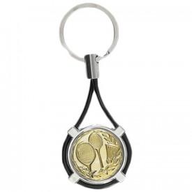 Porte-clés médaille personnalisable - France Sport F_192-32L