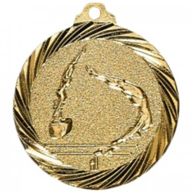 Médaille Gymnastique Or 32 mm - France Sport F_NX09D