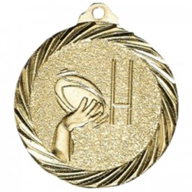 Médaille Rugby Or 32 mm - France Sport F_NX15D
