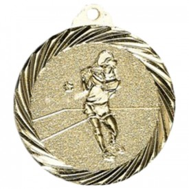 Médaille Tennis Or 32 mm - France Sport F_NX16D