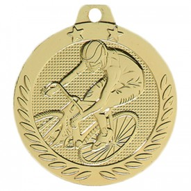 Médaille Cyclisme Or 40 mm - France Sport F_DX06D