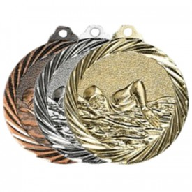 Médaille Natation 32 mm - France Sport F_NX13
