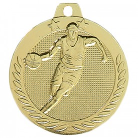 Médaille Basket-ball Or 40 mm - France Sport F_DX03D