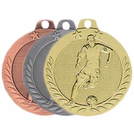 Médaille Football 40 mm - France Sport F_DX10