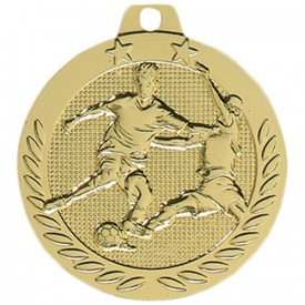 Médaille Football Or 40 mm - France Sport F_DX09D