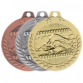 Médaille Natation 40 mm - France Sport F_DX14