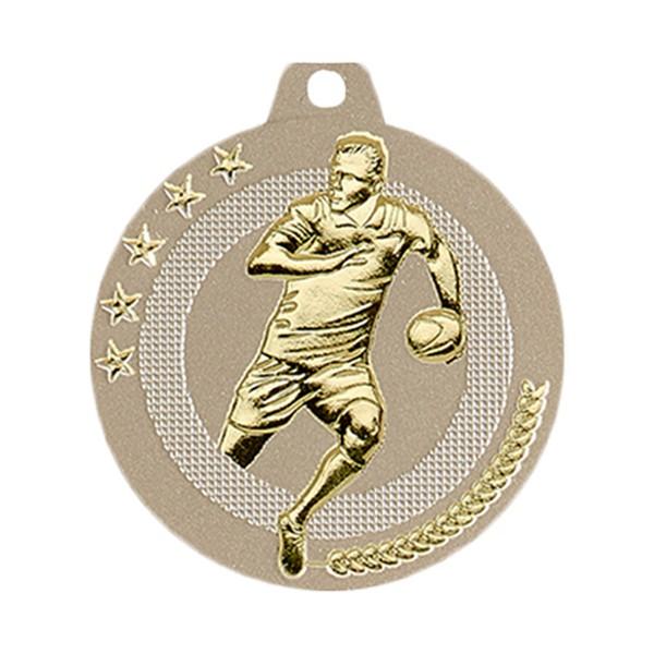Médaille Basket-ball 50 mm Or France Sport