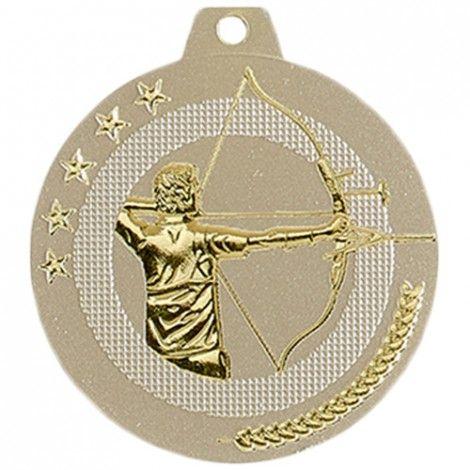 Médaille Tir à l'arc 50 mm Or France Sport