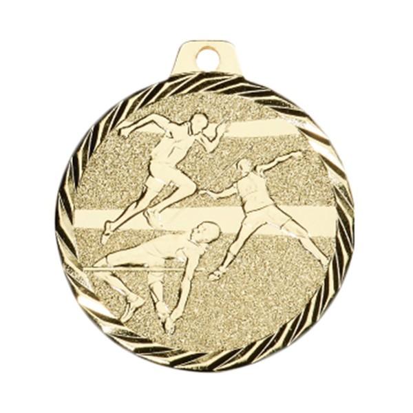 Médaille Athlétisme 50 mm Or France Sport