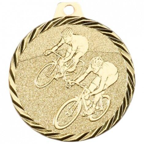 Médaille Cyclisme 50 mm Or France Sport