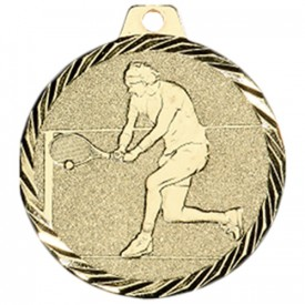 Médaille Tennis 50 mm Or - France Sport F_NZ23D