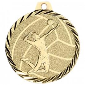 Médaille Volley-ball 50 mm Or - France Sport F_NZ24D