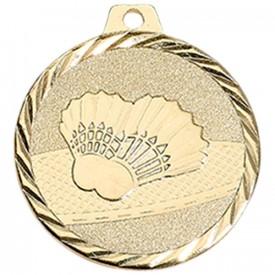 Médaille Badminton 50 mm Or - France Sport F_NZ28D