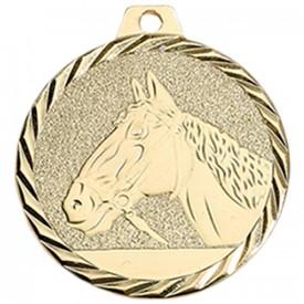 Médaille Equitation 50 mm Or - France Sport F_NZ29D