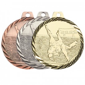 Médaille Judo 50 mm - France Sport F_NZ12
