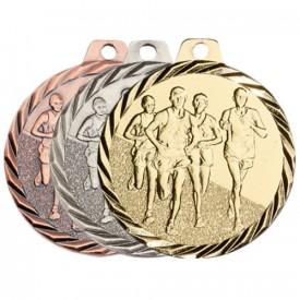 Médaille Course à pied 50 mm - France Sport F_NZ17