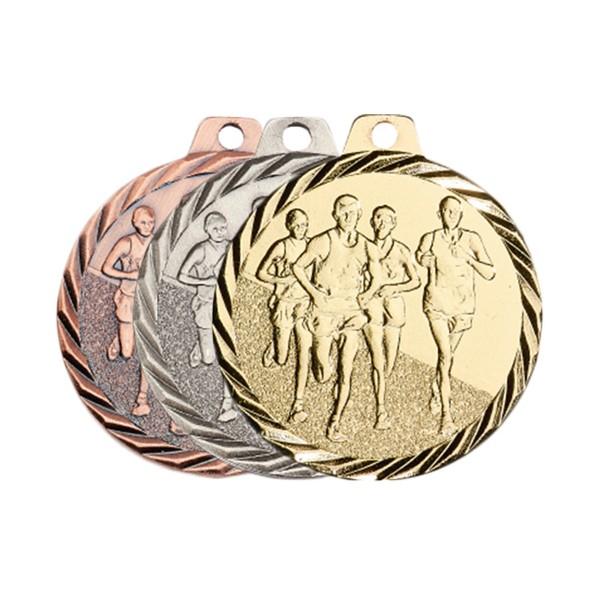 Médaille Course à pied 50 mm France Sport