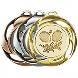 Médaille Tennis 40 mm France Sport