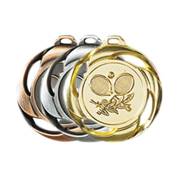 Médaille Tennis 40 mm France Sport