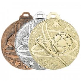 Médaille métal massif Football 50 mm - France Sport F_NY04