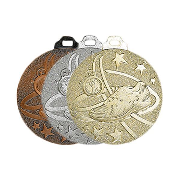 Médaille métal massif Course à pied 50 mm France Sport