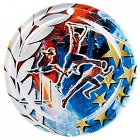Médaille Céramique Athlétisme 70 mm France Sport
