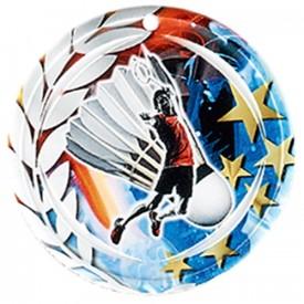 Médaille Céramique Badminton 70 mm - France Sport F_NA02