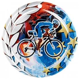 Médaille Céramique Cyclisme 70 mm - France Sport F_NA09