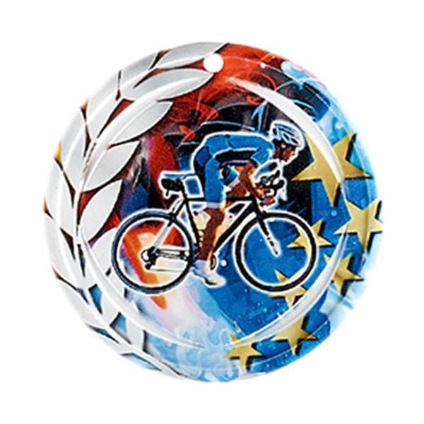 Médaille Céramique Cyclisme 70 mm France Sport