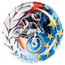 Médaille Céramique VTT 70 mm - France Sport F_NA10