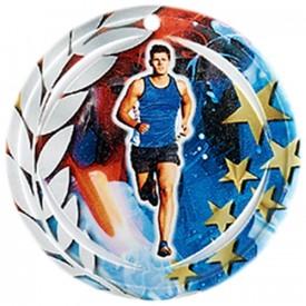 Médaille Céramique Course à pied 70 mm - France Sport F_NA07