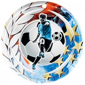 Médaille Céramique Football 70 mm - France Sport F_NA13