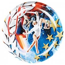 Médaille Céramique Gymnastique féminine 70 mm - France Sport F_NA17
