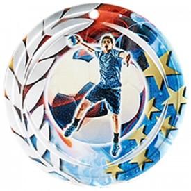 Médaille Céramique Handball 70 mm - France Sport F_NA18