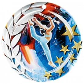Médaille Céramique Majorette 70 mm - France Sport F_NA29