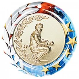 Médaille Céramique Personnalisable 70 mm - France Sport F_NA30/C
