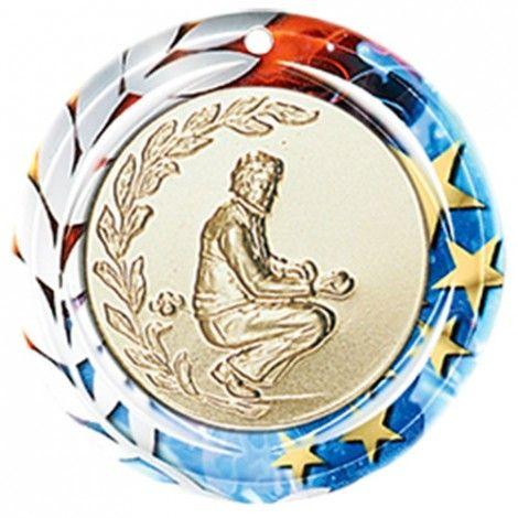 Médaille Céramique Personnalisable 70 mm France Sport