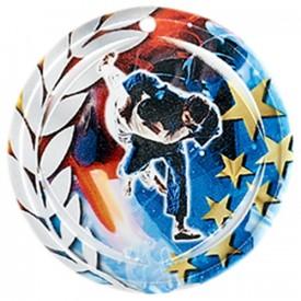 Médaille Céramique Judo 70 mm - France Sport F_NA19