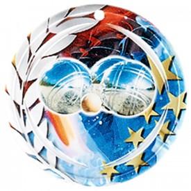 Médaille Céramique Pétanque 70 mm - France Sport F_NA23