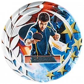 Médaille Céramique Tennis de table 70 mm - France Sport F_NA24