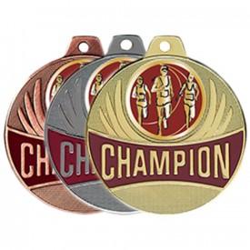 Médaille Champion Course à pied 50 mm - France Sport F_CX08