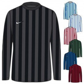 Maillot Striped Division IV ML Jr - Nike N_CW3825
