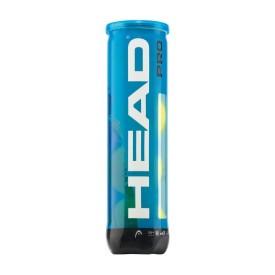 Tube 4 balles Head Pro Blue