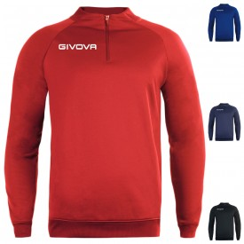 Sweat 1/4 zip technical 500 - Givova G_MA023
