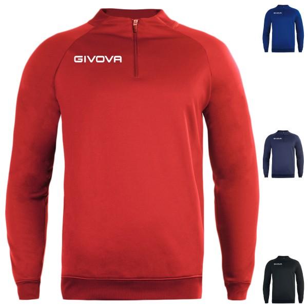 Sweat 1/4 zip technical 500 Givova