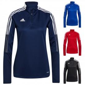 Sweat 1/4 zip d'entraînement Tiro 21 Femme - Adidas A_GK9660