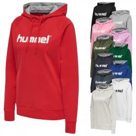 Sweat à capuche cotton Logo HMLGO Femme - Hummel 203517
