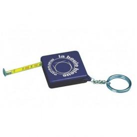 Porte clés mètre - La boule bleue B_PCM